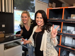 Julia & Sasha visit Cabinetmakers Choice